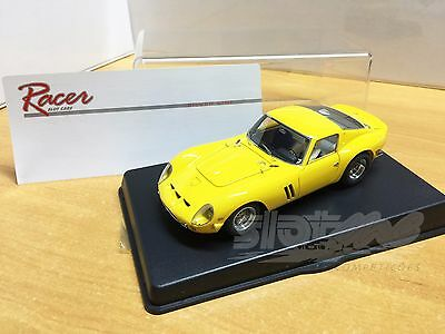 Racer Silverline Ferrari 250GTO Road Car Yellow 1/32 #NEW#