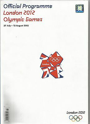 LONDON 2012 OLYMPICS  Official Programme