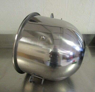 New Stainless Steel 20Qt Bowl for Hobart A200 Mixer