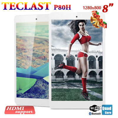 "Teclast P80H 8"" Tableta PC Android 5.1 Quad Core GPS WIFI Bluetooth 2XCAM"