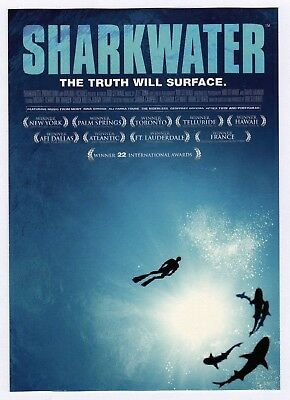 6x Sharkwater: The Truth Will Surface - Postcard (Lot of 6 Postcards)