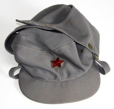 Soviet Russian Army Hat Cap Grey Size 57