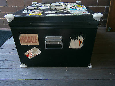 Industrial Heavy Duty Metal Trunk Chest Coffee Table