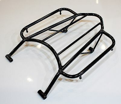 HONDA CRF250L CRF250M CRF250 Rally (2012-2017) REAR LUGGAGE RACK (BLACK)