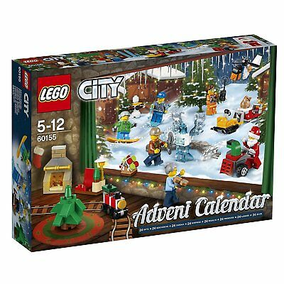 LEGO 60155 Construction Toy City Advent Calendar 2017 24 Different Minifigures