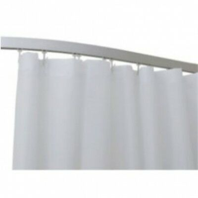 Suits the 1.5m Track - Rba Shower Curtain Taffeta in 3.6 W x 1.8 H