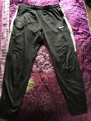 Paris Saint Germain PSG Large Nike Track Bottoms Slim Fit 2017/2018