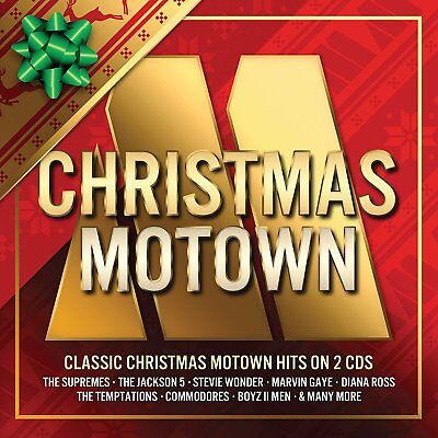 Christmas Motown 2 Cd Various Artists - New Release October 2017