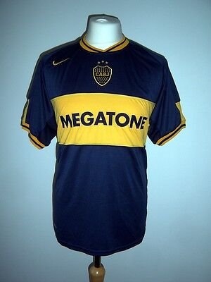 Club Atlético Boca Juniors CABJ Nike Tevez 2006 Home Shirt XL