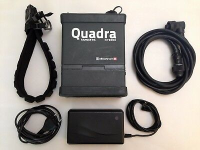 Elinchrom Ranger Quadra Hybrid RX Pack, Li-Ion battery, and Head Cable