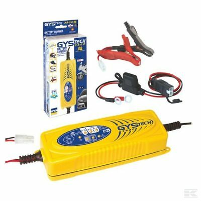 GYS TECH 3800 Automatic Battery Charger 024939 Car Van Bike Charge 12v
