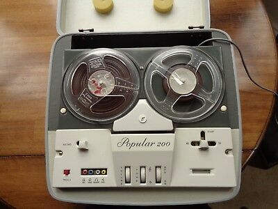 Elizabethan Popular 200 reel to reel tape recorder