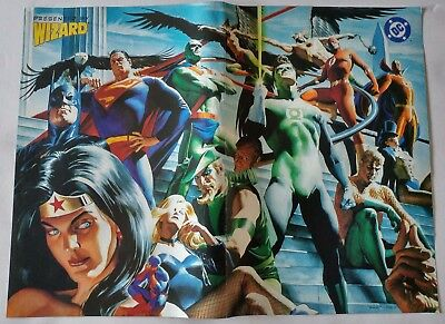 Justice League-Ascension Poster From Wizard Magazine