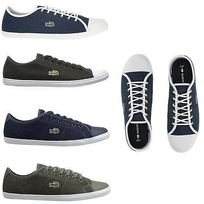 detailed pictures online retailer top quality LACOSTE WOMEN FASHION Casual Lace Up Shoes NEW Ziane Canvas ...