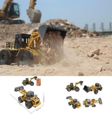 Remote Control Toy Electric RC Construction Bulldozer Truck Tractor Digger Radio