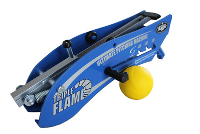 Louisville Slugger Triple Flame Hand-Held Ultimate Pitching Machine
