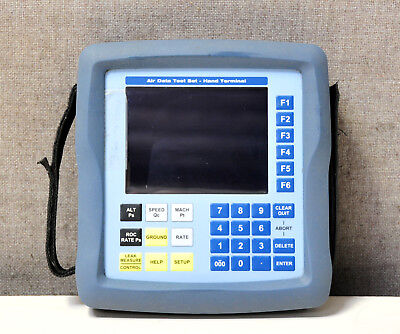 Druck/GE Barfield Air Data Test System Hand Terminal/remote keypad 101-01185A