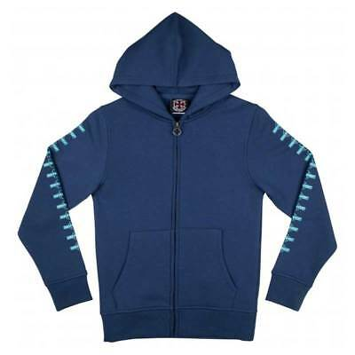 Felpa Independent Youth Zip Hood OG Repeat Navy - Ragazzo