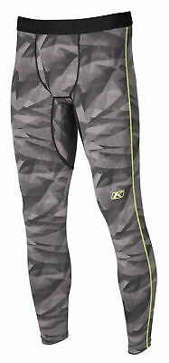 Klim Mens Grey/Black Aggressor 1.0 Warming Snowmobile Base Layer Pants Snow 2018