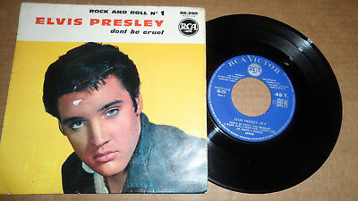ELVIS PRESLEY 'ROCK AND ROLL No 1' 86.290 RCA VICTOR 1961 FRENCH ISSUE
