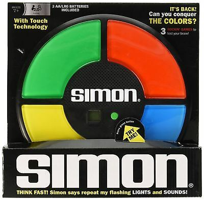 Simon Says Classic Electronic Lights/Sounds Memory Full-Size Retro Game 80s CHOP