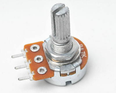 Alpha Potentiometer Linear Track B4.7K (B5K) 16mm Variable Resistor