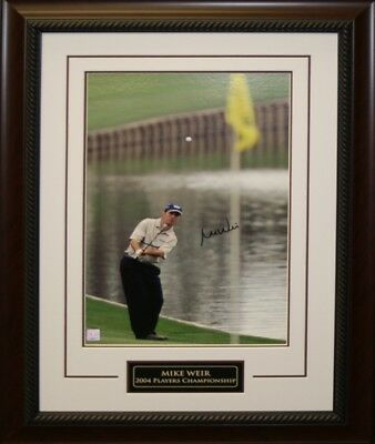 Mike Weir - Signed 14x20 Framed 2004 Players Championship