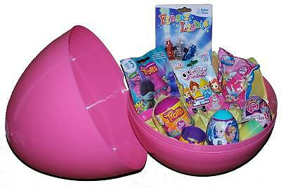 PINK GIANT SURPRISE EGG - 15'' High Filed With Goodies Blind Bags, Surprise Eggs