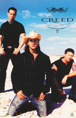 Lot Of 2 Posters: Music: Creed  2002 World Tour -  Free Ship    #3544     Lc28 D