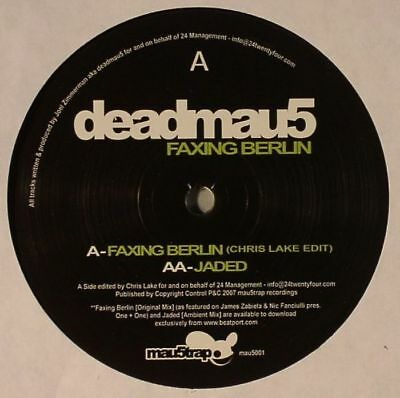 "DEADMAU5 - Faxing Berlin - Vinyl (12"")"