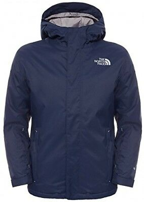 (Blue/cosmic Blue, Youth Small) - The North Face Kids' Snow Quest Jacket