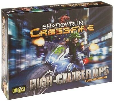 Catalyst Game Labs 27703CAT Shadowrun Crossfire Mission 1 High Calib...