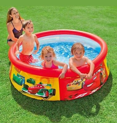 Intex Disney Cars - Easy Set Pool Inflatable Paddling Pool 28103NP 183 x 51 cm