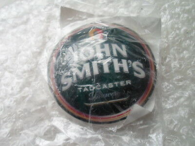 beer pump john smiths badge (fisheye round stick-on new old stock).
