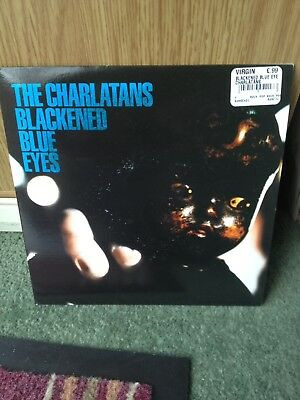 "The Charlatans Blackened Blue Eyes 7"" Vinyl Mint"