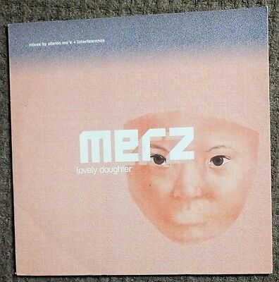 MERZ: LOVELY DAUGHTER (1999 Promo EP) XPR3353 STEREO MC'S