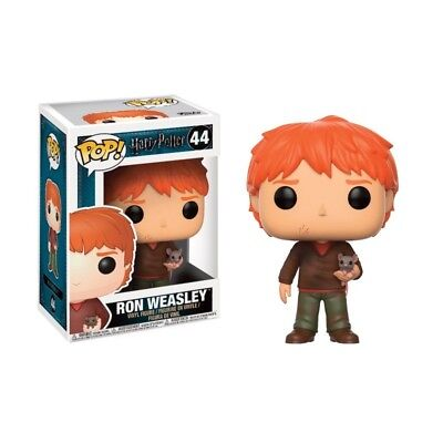 Figurine Harry Potter - Ron Weasley with Scabbers Pop 10cm