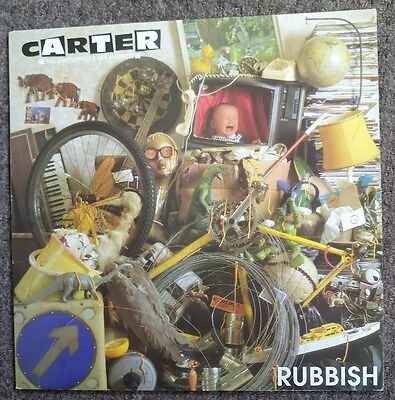 "CARTER USM: Rubbish (1990 12"") ABB102T unstoppable sex machine"
