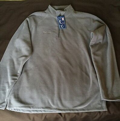 Mark Todd men's fleece, grey, Size Large, New with tags