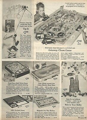 1965 Xmas cat pg Getaway Chase Game Bats In Your Belfry