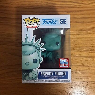 Funko Pop! New York Freddy Status of Liberty NYCC Exclusive LE 6000 NYC Pop