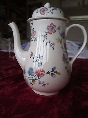 Laura Ashley chinese Silk coffee pot.