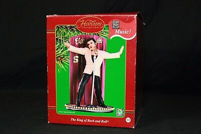 Elvis Presley Carlton Cards King of Rock and Roll Ornament All Shook Up