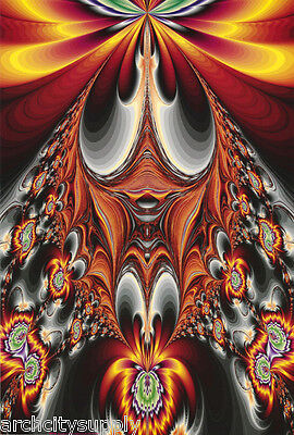 POSTER PSYCHEDELIC FREE SHIPPING GALAXY #F3    RC18 O