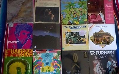 Lotto vinili Black Sabbath Cream Tangerine dream CCCP Paul McCartney Bacharach