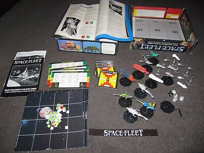 SPACE FLEET Board Game/s Workshop with Metal Ships and Extra Rules Warhammer 40k