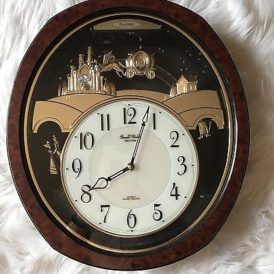 Rhythm Small World Cinderella Musical Clock Chime