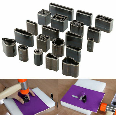 39 Style Shape Punch Hole Hollow Set Leather Craft DIY Tool Paper Card Vinyl