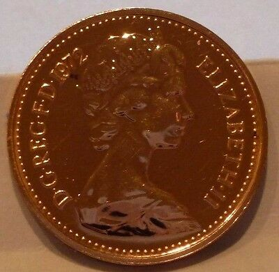 MEGA RARE 1972 1/2p HALFPENCE 1 OF JUST 2 YEARS NEVER RELEASED COIN HUNT