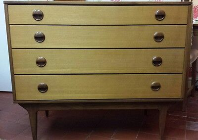 Butilux Retro Chest Of Drawers Mid Century Danish Style